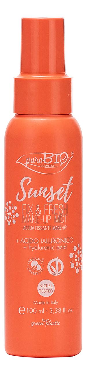 Спрей для фиксации макияжа Sunset Fix & Fresh Make-Up Mist 100мл спрей для фиксации макияжа fix me make up fixer 50мл