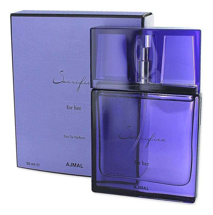 Ajmal Sacrifice for Her: парфюмерная вода 50мл ajmal shadow for her парфюмерная вода 1 5мл