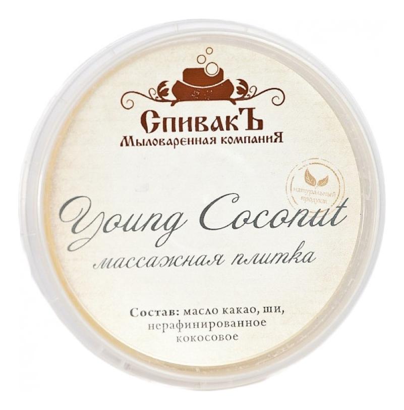 Массажная плитка для тела Young Coconut 75г