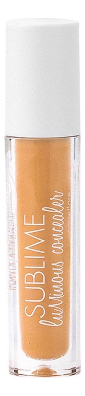 Купить Жидкий консилер для лица с эффектом сияния Sublime Luminous Concealer 7мл: No 04, puroBIO