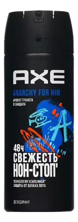 Дезодорант-спрей Anarchy 150мл дезодорант axe дарк темптейшн аэрозоль 150мл