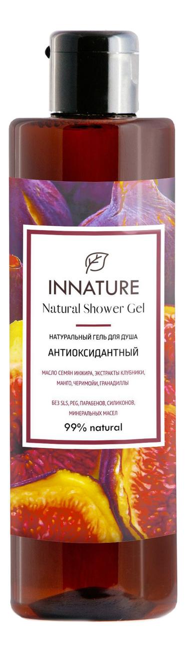 Натуральный гель для душа Антиоксидантный Natural Shower Gel 250мл гель для душа energizing shower gel green tea гель для душа 250мл