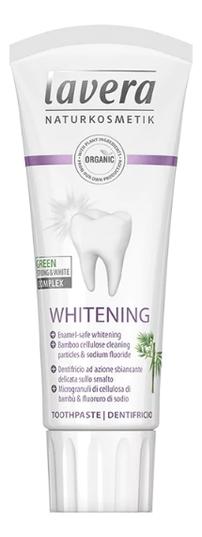 Фото - Отбеливающая зубная био-паста Toothpaste Whitening 75мл зубная паста отбеливающая для курящих smokers 75мл