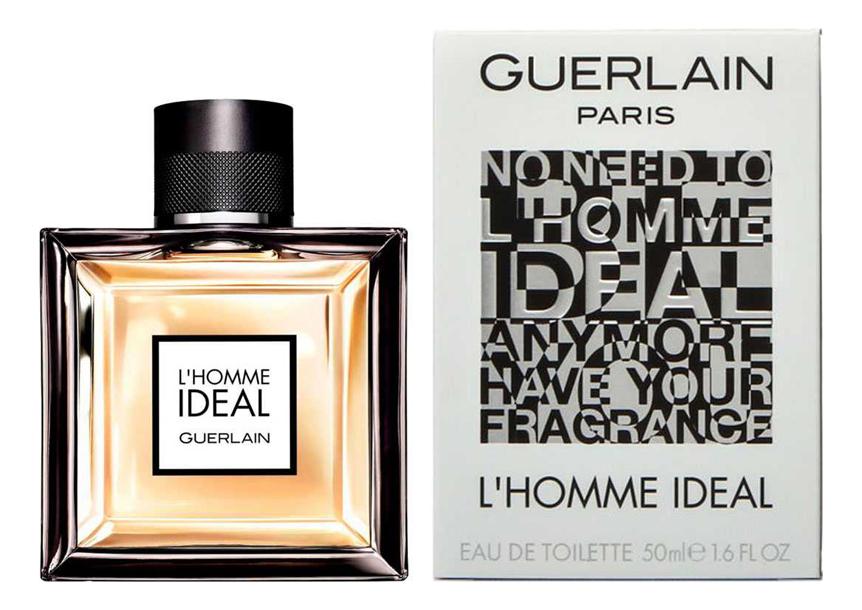 Купить L'Homme Ideal: туалетная вода 50мл (старый дизайн), Guerlain