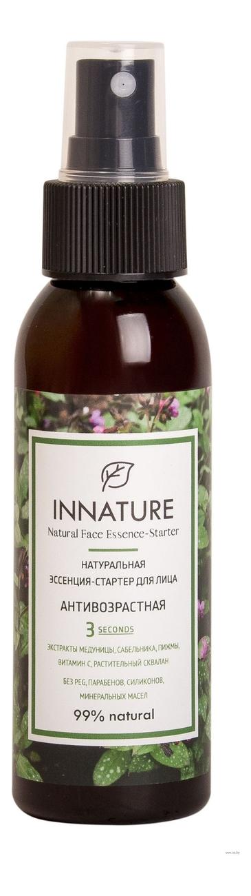 Купить Натуральная эссенция-стартер для лица Антивозрастная Natural Face Essense-Starter 100мл, INNATURE
