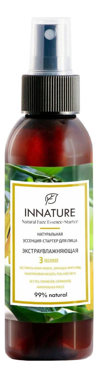 Купить Натуральная эссенция-стартер для лица Экстраувлажняющая Natural Face Essense-Starter 100мл, INNATURE