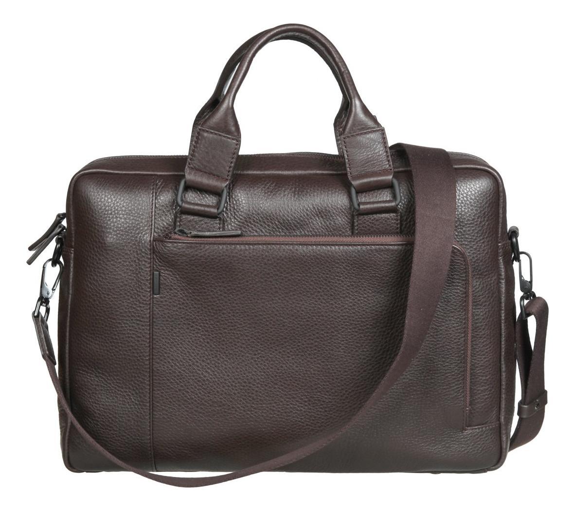 Бизнес-сумка Dark Brown 1811342 cover for avtodokumentov gianni conti 1817456 dark brown