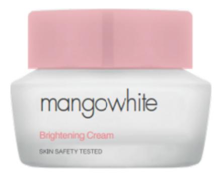 Фото - Крем для лица с экстрактом мангустина Mangowhite Brightening Cream 50мл крем для тела с экстрактом зверобоя и маслом ройбоша skin nourishing body cream крем 50мл