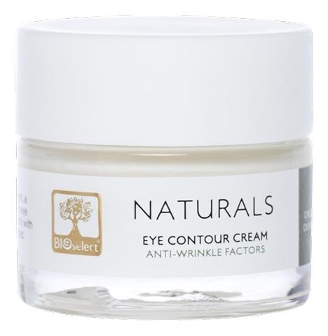 Купить Крем против морщин для кожи вокруг глаз Naturals Eye Contour Cream With Anti-Wrinkle Factors 30мл, BIOselect