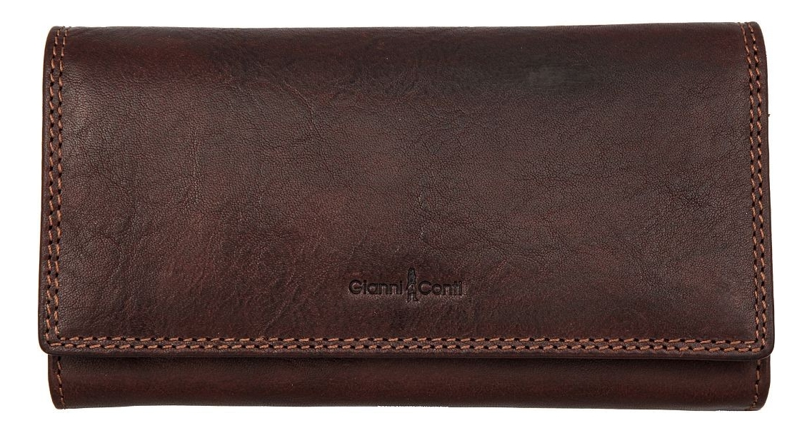 Портмоне Dark Brown 918144 кошельки бумажники и портмоне gianni conti 1137075 dark brown