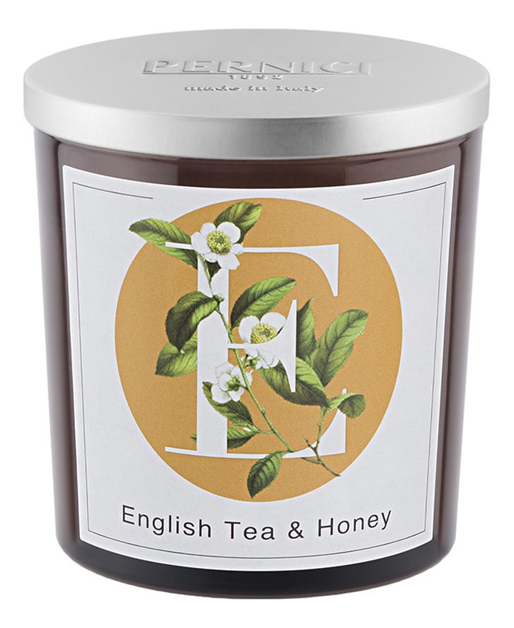 Купить Ароматическая свеча Английский чай и Мед: свеча 350г, Pernici