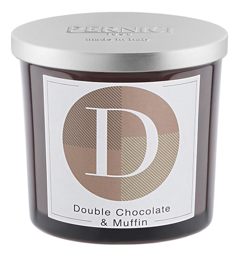 Купить Ароматическая свеча Двойной шоколад и Маффин: свеча 200г, Pernici