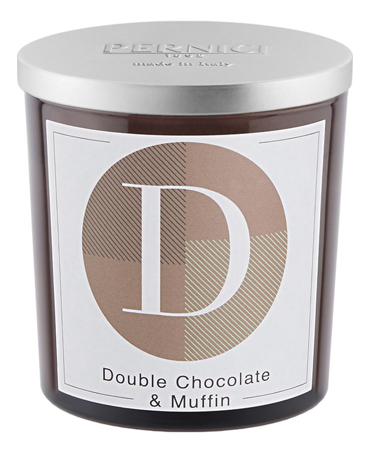 Купить Ароматическая свеча Двойной шоколад и Маффин: свеча 350г, Pernici