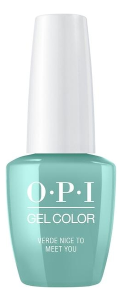 Гель-лак для ногтей Gel Color 15мл: Verde Nice to Meet You лак для ногтей sea you soon 15мл 397 sea you soon