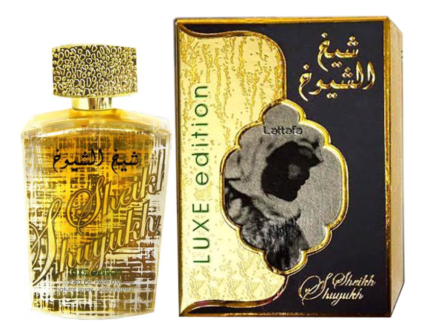 Купить Sheikh Al Shuyukh Luxe Edition: парфюмерная вода 100мл, Lattafa