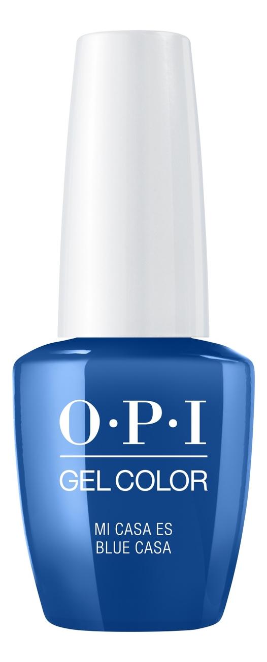 Фото - Гель-лак для ногтей Gel Color 15мл: Mi Casa Es Blue Casa лак для ногтей infinite shine2 15мл mi casa es blue casa