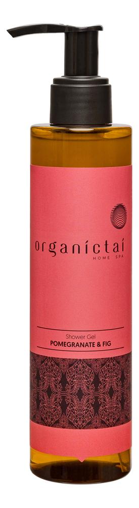 Купить Натуральный бессульфатный гель для душа Shower Gel Pomegranate & Fig 200мл, Натуральный бессульфатный гель для душа Shower Gel Pomegranate & Fig 200мл, Organic Tai