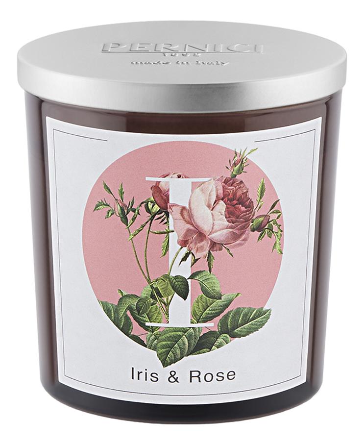 Ароматическая свеча Ирис и Роза: 350г