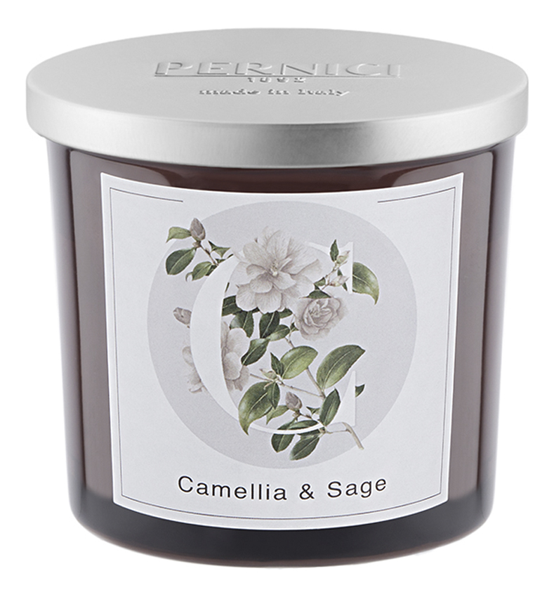 Фото - Ароматическая свеча Камелия и Шалфей: свеча 200г ароматическая свеча корица и гвоздика свеча 200г