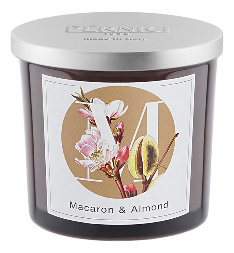Купить Ароматическая свеча Сладкий макарон и Миндаль: свеча 200г, Pernici