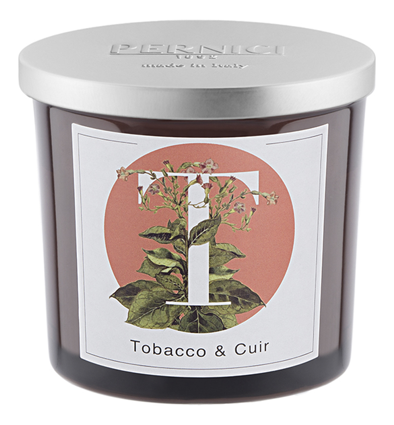 Купить Ароматическая свеча Табак и Кожа: свеча 200г, Pernici