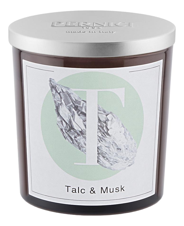 Купить Ароматическая свеча Тальк и Мускус: свеча 350г, Pernici