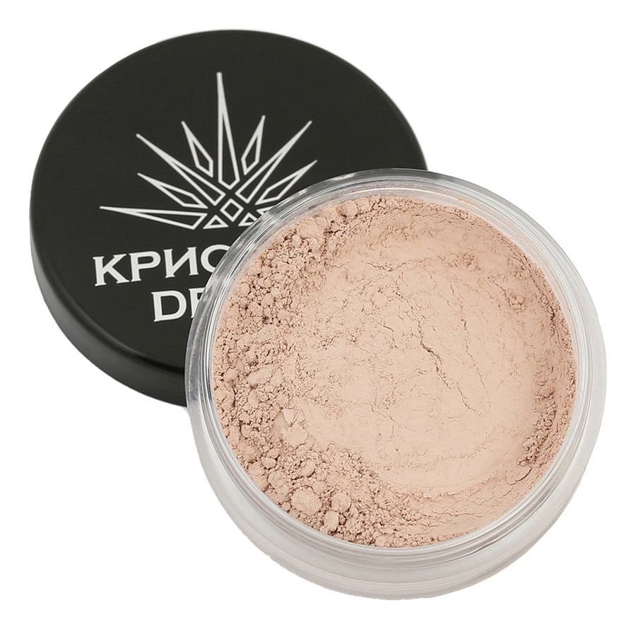 Тональная пудра-основа для макияжа лица Кристалл Dекор 5г: Нежная ваниль