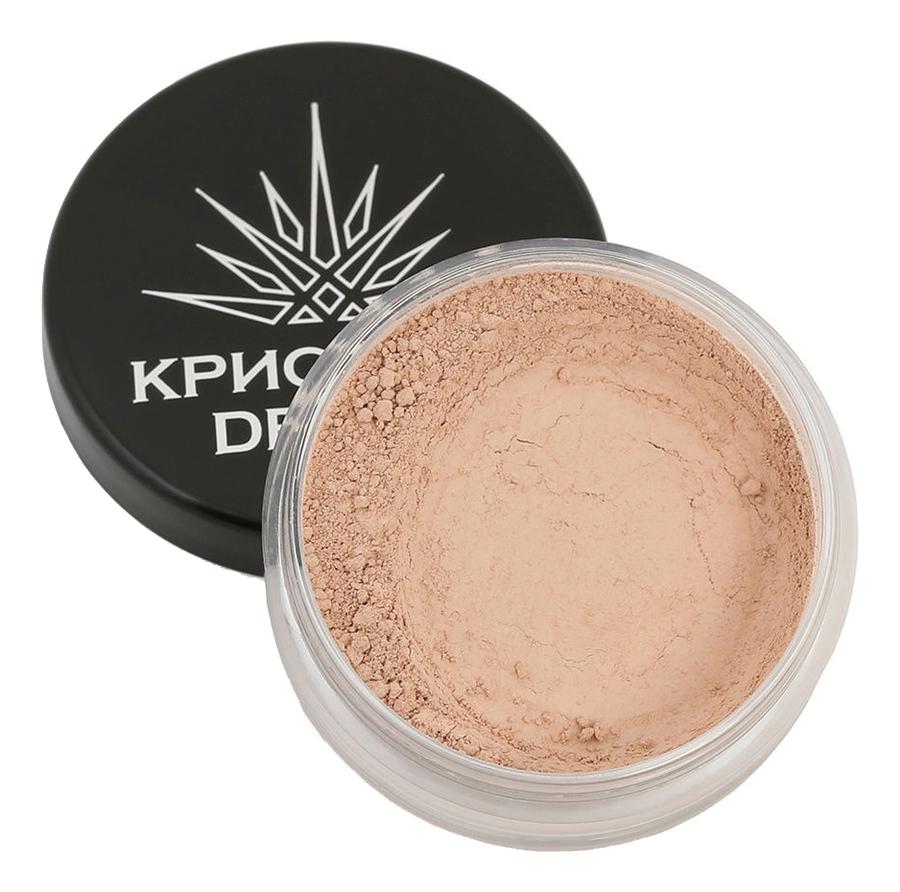 Тональная пудра-основа для макияжа лица Кристалл Dекор 5г: Персиковое дерево
