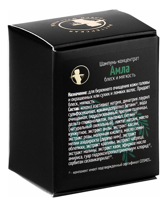 Купить Твердый шампунь-концентрат для волос Амла 70г, Мастерская Олеси Мустаевой