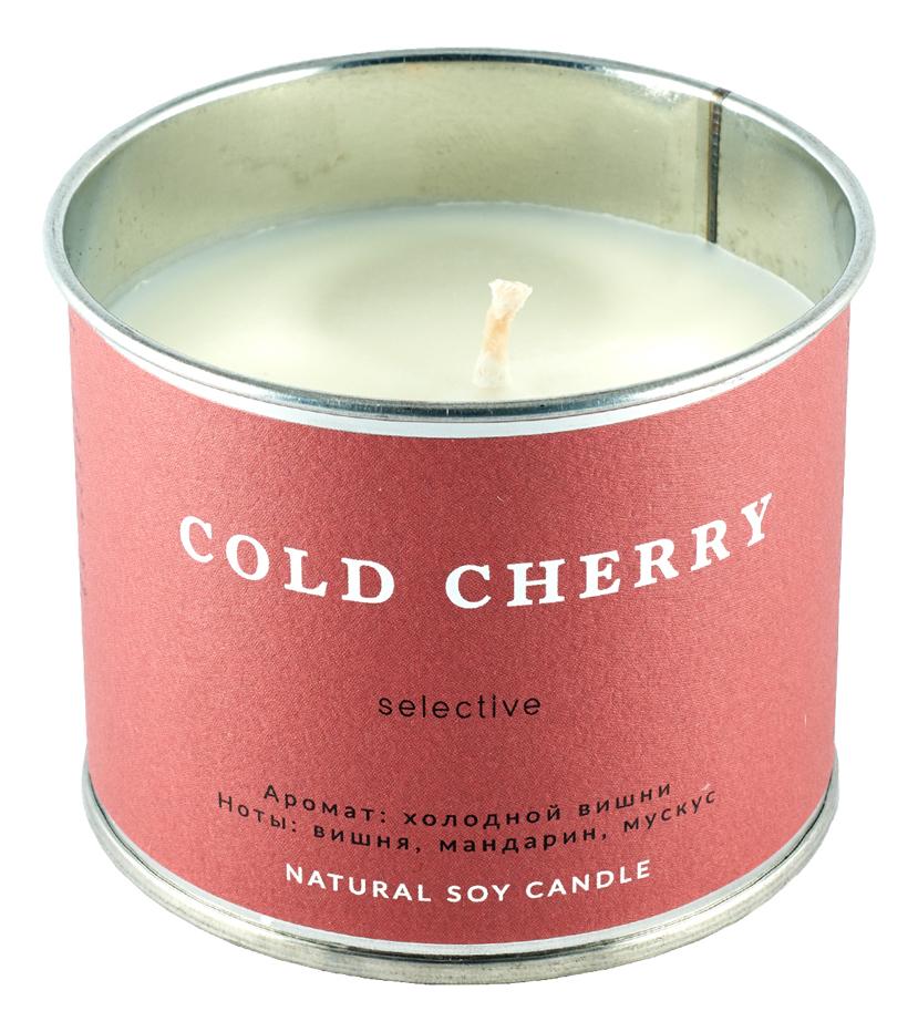 Ароматическая свеча Холодная вишня: Свеча 226г