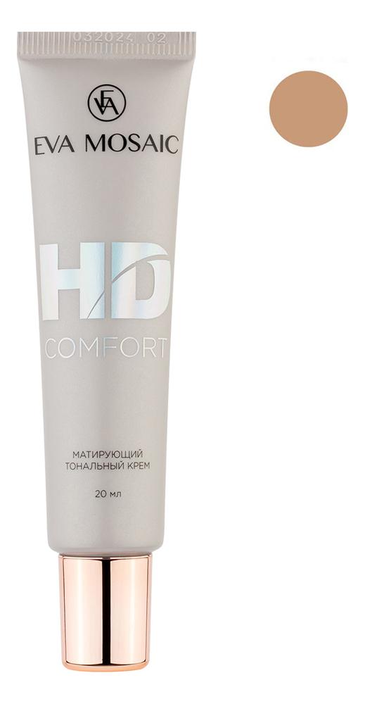 Купить Матирующий тональный крем для лица HD Comfort 20мл: 05 Розовая ваниль, Eva Mosaic