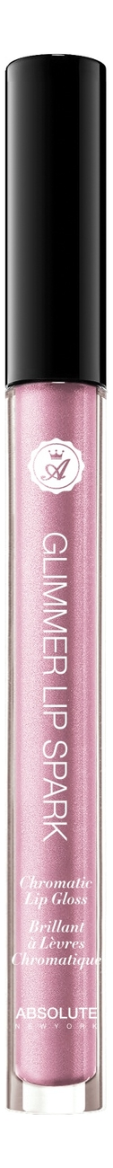 Блеск для губ Glimmer Lip Spark Chromatic Gloss 1,7мл: Rose Quartz