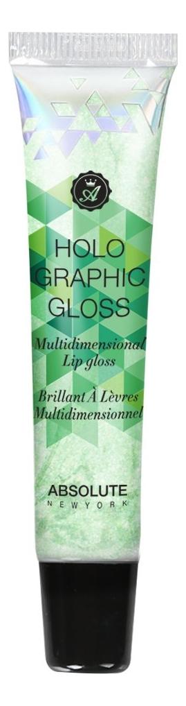 Купить Блеск для губ Holographic Lip Gloss 16мл: MLHG04 Chameleon, ABSOLUTE New York
