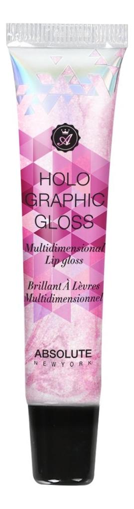 Блеск для губ Holographic Lip Gloss 16мл: MLHG05 Pink Gem
