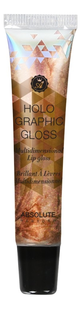 Блеск для губ Holographic Lip Gloss 16мл: MLHG07 Yellow Topaz