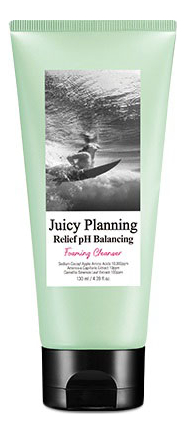 Пенка для умывания Juicy Planning Relief pH Balancing Foaming Cleanser 130мл