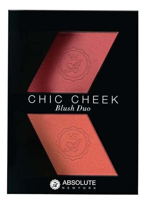 Румяна для лица Chic Cheek Blush Duo 8г: MFBD04 Pure Pink Papaya