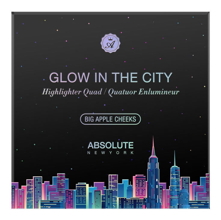 Палетка для макияжа лица Glow In The City Big Apple Cheeks 20г larry gets lost in new york city