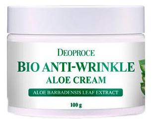 Купить Крем для лица с экстрактом алоэ вера Bio Anti-Wrinkle Aloe Cream 100г, Deoproce