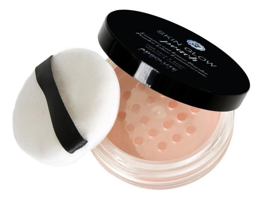 Купить Пудра для лица Skin Glow 4г: MFSG02 Peach, ABSOLUTE New York