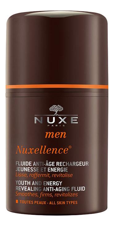 Антивозрастная эмульсия для лица Men Nuxellence Youth And Energy Revealing Anti-Aging Fluid 50мл