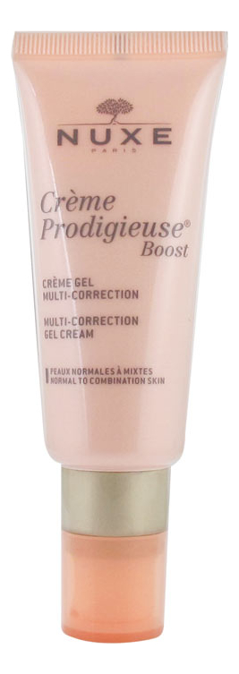 Мультикорректирующий гель-крем для лица Creme Prodigieuse Boost 40мл nuxe prodigieuse крем для лица