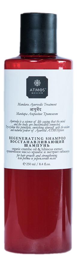 Восстанавливающий шампунь для волос Regenerating Shampoo Mandara Ayurvedic Treatment 250мл regenerating azelaic elixir aravia отзывы