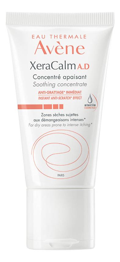 Успокаивающий концентрат для лица XeraCalm A.D Concentre Apaisant 50мл концентрат для похудения concentre minceur 75мл