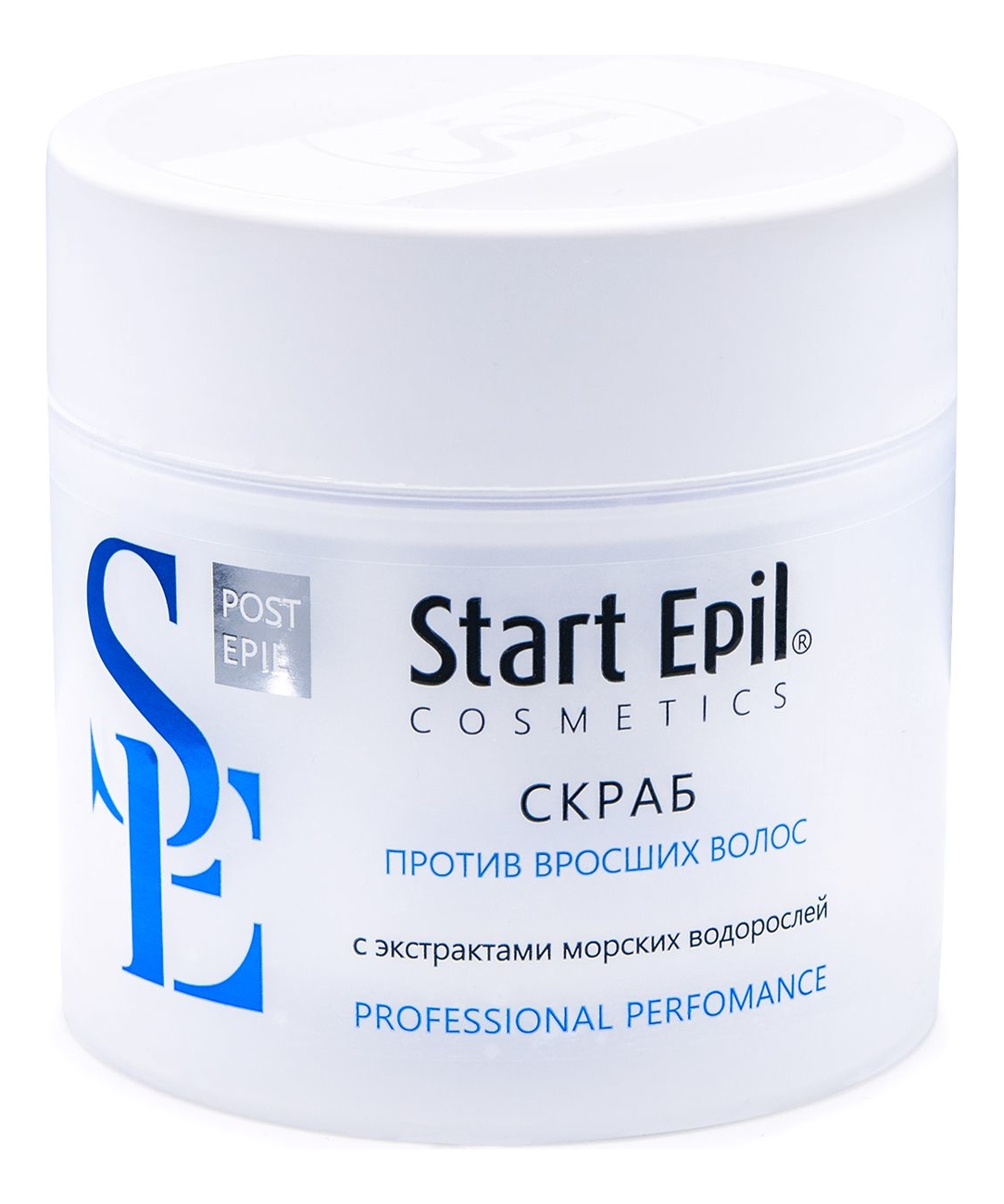 Скраб против вросших волос с экстрактами морских водорослей Start Epil 300мл скраб от вросших волосков