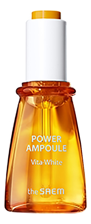 Осветляющая сыворотка для лица Power Ampoule Vita-white 35мл сыворотка осветляющая с фильтратом дрожжей whitening ampoule 30 мл the saem galactomyces