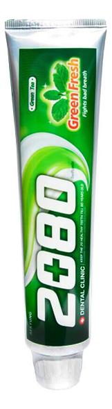 Купить Зубная паста с экстрактом зеленого чая Dental Clinic 2080 Green Fresh 120г, Kerasys
