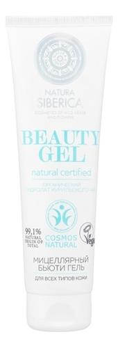 Мицеллярный бьюти гель с гидролатом курильского чая Natural Certified Beauty Gel 140мл