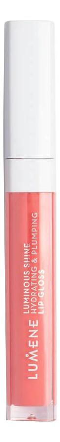 Купить Увлажняющий блеск для губ придающий объем и сияние Luminous Shine Hydrating & Plumping Lip Gloss 5мл: No 9, Увлажняющий блеск для губ придающий объем и сияние Luminous Shine Hydrating & Plumping Lip Gloss 5мл, Lumene