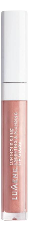 Купить Увлажняющий блеск для губ придающий объем и сияние Luminous Shine Hydrating & Plumping Lip Gloss 5мл: No 11, Увлажняющий блеск для губ придающий объем и сияние Luminous Shine Hydrating & Plumping Lip Gloss 5мл, Lumene